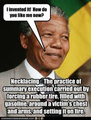 mandela tire necklaces