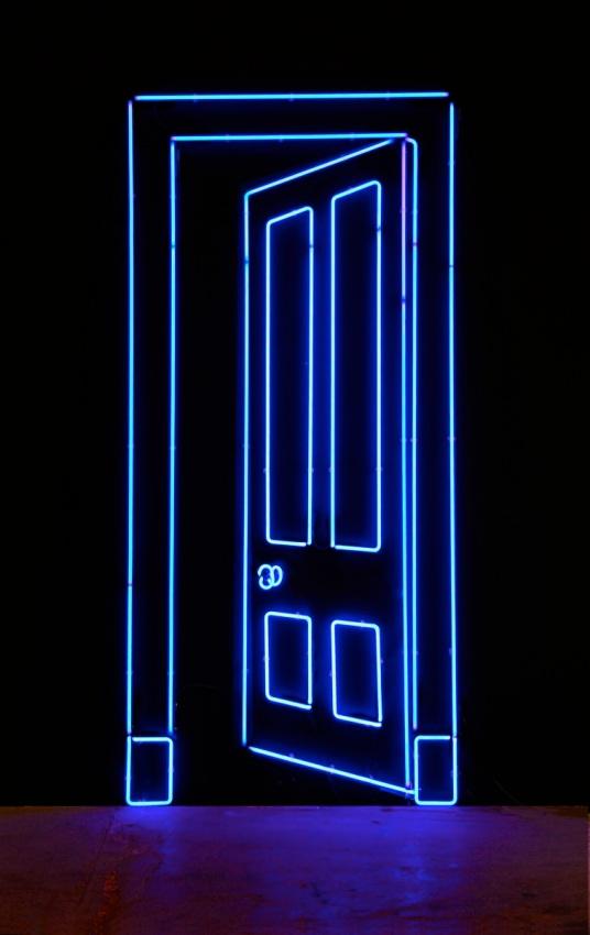 OPEN DOOR NEON 2