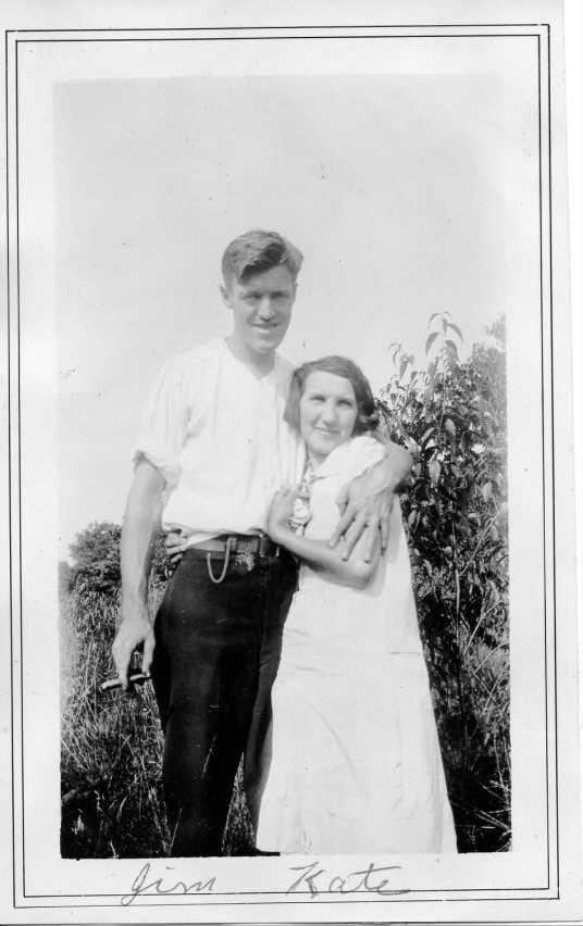 grandpa and grandma jim & kate