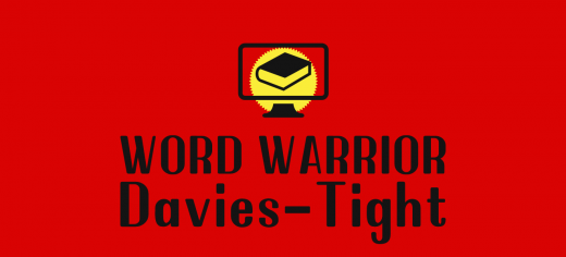 Word Warrior Davies-Tight