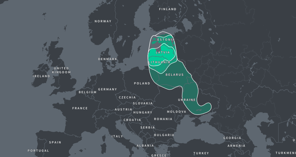 DNA MAP BALTICS