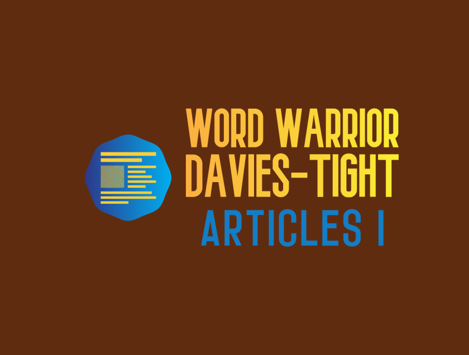 WW ARTICLES 1